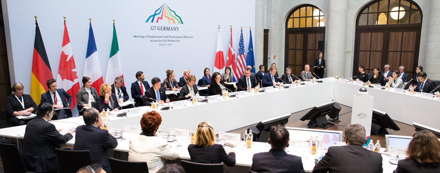 G7 Ministers discuss implementation of Elmau decisions on GSC
